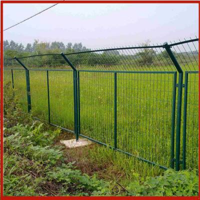 兴来 公园锌钢护栏网价格 苏州车间仓库护栏网 刚刺丝围栏网报价