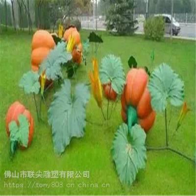 绿地玻璃钢卡通人物雕塑摆件-联尖定制厂家
