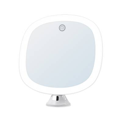 镜宝明BM-1638 LED化妆镜 浴室吸盘化妆镜 触摸开关360度旋转