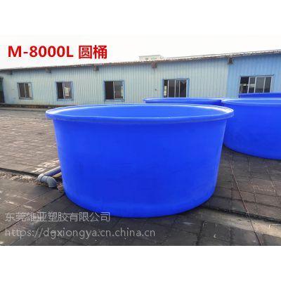 广州厂家直销 成型PE漂染桶 K-8000L塑料圆桶 成型PE漂染桶