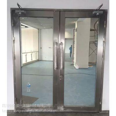 重庆非隔热防火玻璃门酒店厂房商业场所专用