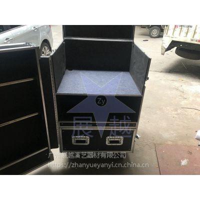 定做铝合金箱子订做制铝箱手提工具箱仪器箱航空箱拉杆运输箱厂家展越铝箱