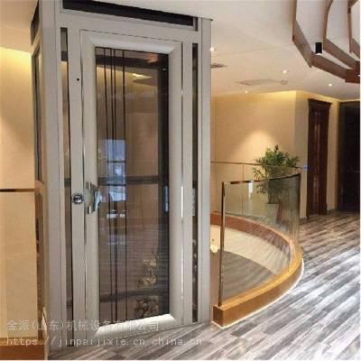 供应威海液压家用别墅三层电梯 阁楼电梯 小型升降机
