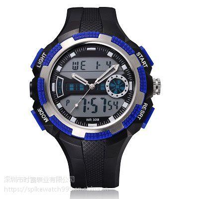 亚马逊直销SPIKE新品潮流个性男士运动电子腕表