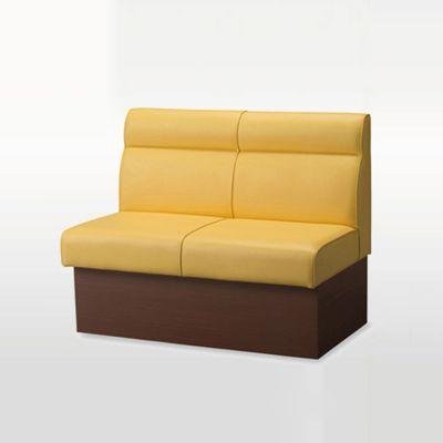 卡座靠背沙发,中西餐厅沙发,靠墙卡座沙发定制
