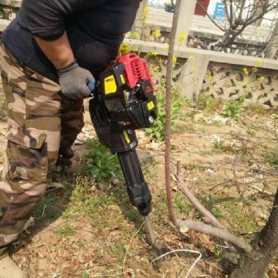 多功能断根汽油挖树机厂家直销 宏兴牌铲式起树机
