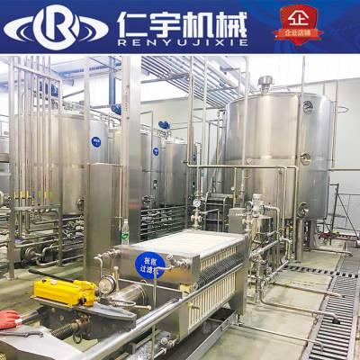 整套饮料机械设备 复合果汁饮料生产线 果汁饮料前处理设备灌装机