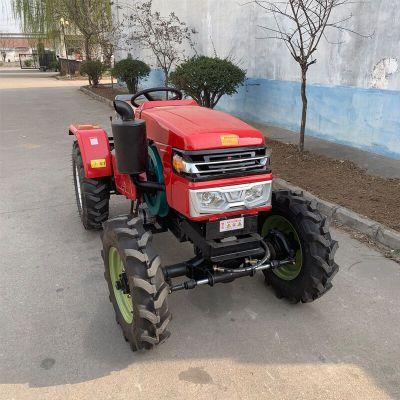 果园王32马力四轮拖拉机 大棚专用矮架四轮旋耕机 小四轮拖拉机厂家