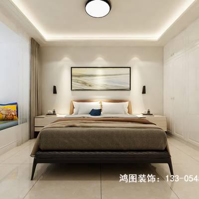 134平米居家领海现代风格装修案例——烟台鸿图装饰