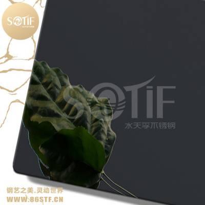香港厂家大型酒店装饰不锈钢镜光黑钛板
