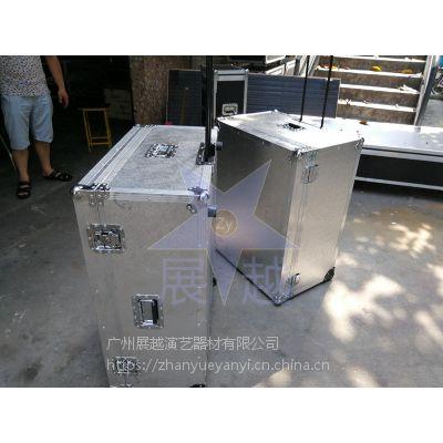 优质铝合金仪器箱 有滑轮 航空箱定做 定制设备箱 仪器箱 展越铝箱