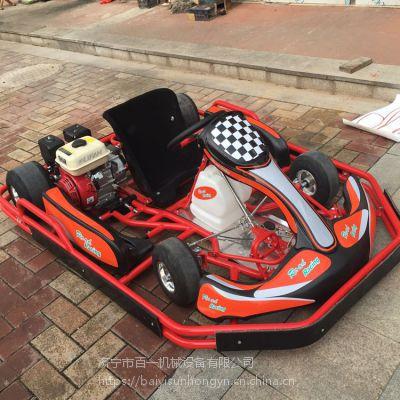 成人四轮赛道卡丁车 电动卡丁车汽油卡丁车 沙滩越野车 游乐设备 广场租赁设备