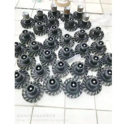 新菱喷头 黑色旋转喷头 新菱冷却塔喷头 布水均匀 两种口径