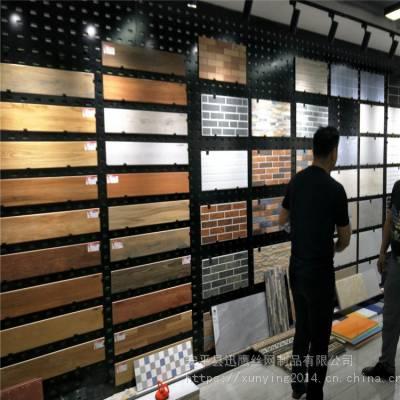 镀锌钢板网,瓷砖展示架,太原陶瓷货架冲孔板
