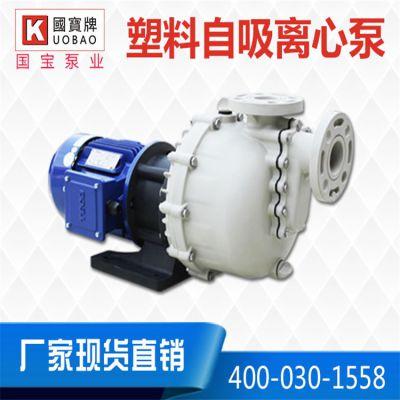 高扬程自吸泵,国宝KB-40011L耐酸碱自吸泵,蚀刻/清洗/污水处理