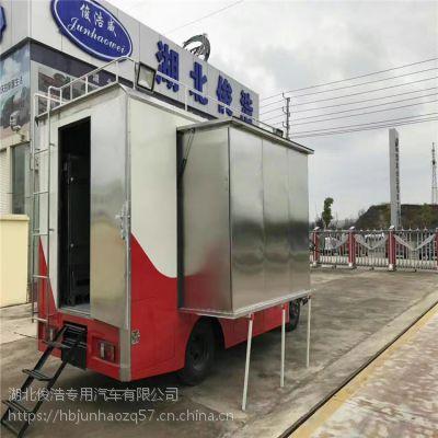 国六东风多利卡云内餐车家政酒席服务4.2米厢体专用车