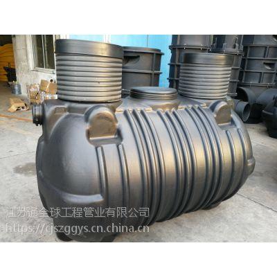 供应滚塑化粪池一次成型 1级B污水处理成套设备 江苏通全球专利产品