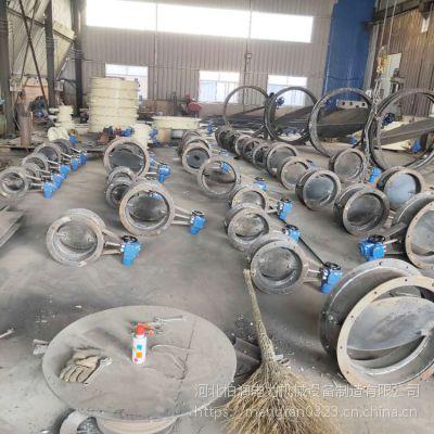 厂家直销 电动挡板式隔离方风门 焊接式风道圆形调节门