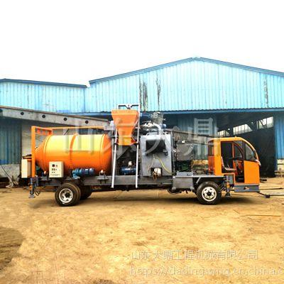 移动式沥青搅拌站 公路修补混合料搅拌车 沥青搅拌机销售