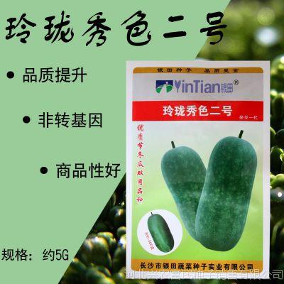 玲珑秀色二号绿春小冬瓜种子批发传统小节瓜种子春秋栽培早熟迷你