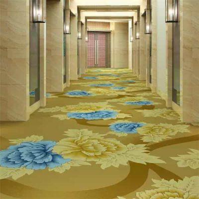 郑州宾馆走廊地毯 定制新西兰羊毛BCF羊毛阻燃房间地毯