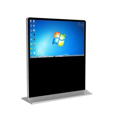 落地立式横屏触摸查询一体机 55寸立式横屏广告机 广告视频图片液晶播放器