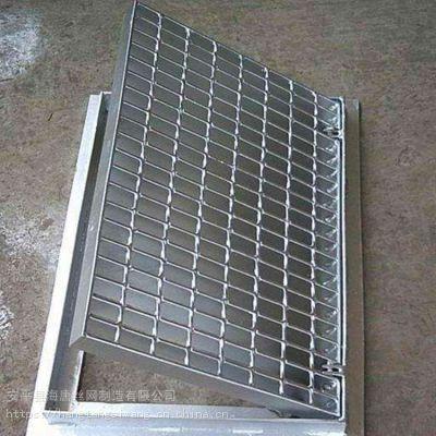 海唐供应各种规格镀锌钢格板 金属排水沟盖板