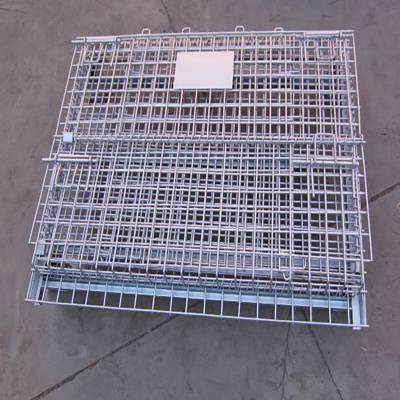 铁框子A江西网格式金属笼A金属蔬菜筐折叠铁笼