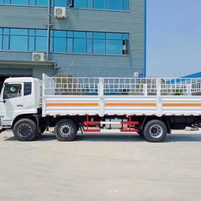 牡丹江东风天锦小三轴气瓶运输车 厢长8.6米气瓶运输车厂家直销