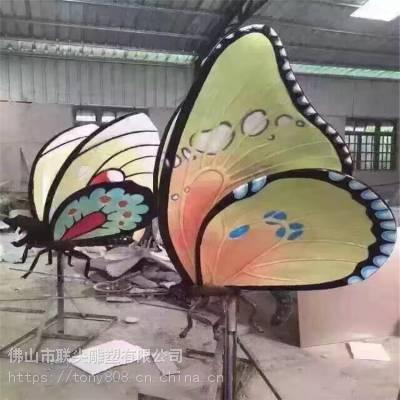 佛山彩绘类动物玻璃钢雕塑-联尖定制厂家