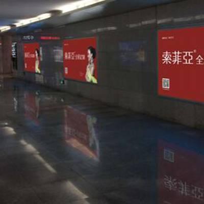 山海关高铁站灯箱广告 山海关站高铁广告价格
