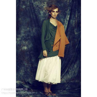 杭州品牌女装折扣依瑞琳秋冬时尚货源批发走份市场