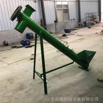 沧州市绞龙上料机 定制不锈钢螺旋输送机 小型粮食提升机图片