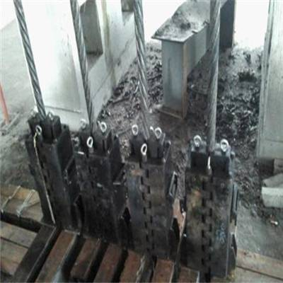 低价直销矿井提升钢丝绳用快速卡绳器 快速卡绳器 罐道钢丝绳卡绳器