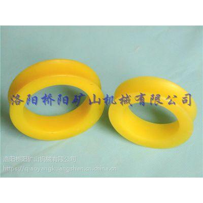 钢丝绳用聚氨酯猴车轮衬 特价索道用橡胶圈