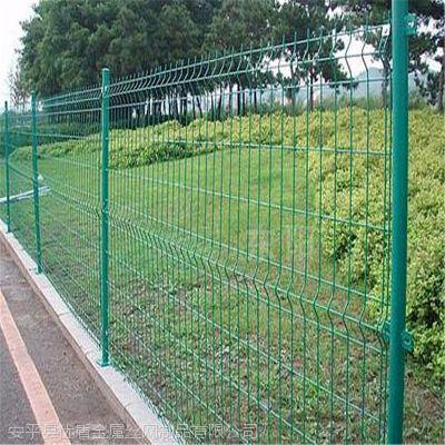 金属浸塑护栏网厂家 圈地围栏网优盾圈地护栏网定制现货供应公路护栏网