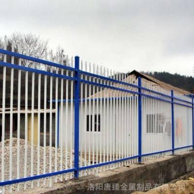 厂家直销锌钢护栏 小区别墅围墙防护栏 规格定制 样式新颖颜色多样