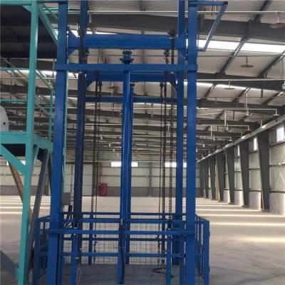 厂家定制钢结构厂房专用固定式升降作业平台安装 8吨液压式升降平台