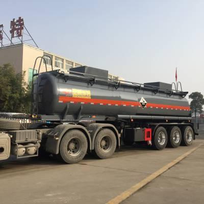 31吨钢衬塑罐车, 液碱罐车在线报价