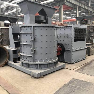 水泥石膏立轴制砂机 厂家直营立式复合破碎机 时产120吨制砂机生产线设备