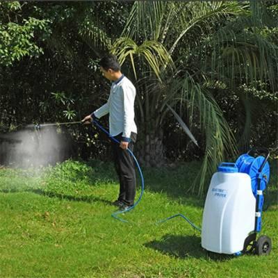 精品直销 45L电动喷雾器 小型蔬菜除虫机 50米长管打药机
