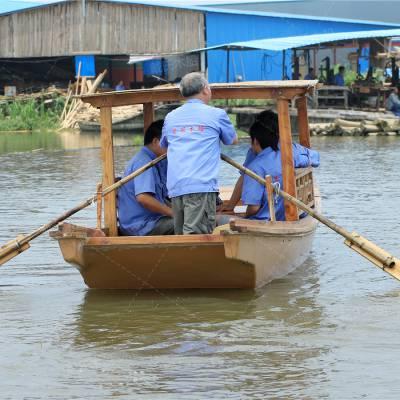 加工定制传统仿古小木船 戴氏小木船