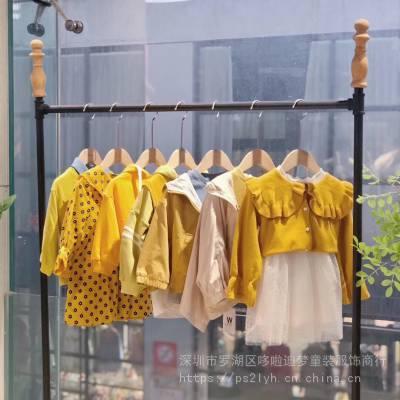 网红品牌Woowoo品牌童装春装2020年春款品牌童装折扣批发糖果系列童装尾货走份批发