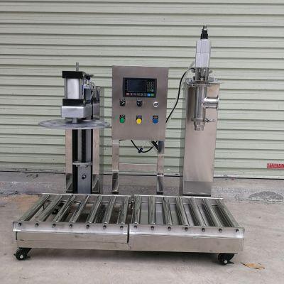 富拉尔基压盖灌装机应该怎么选 可以压铁桶的灌装机都哪里有