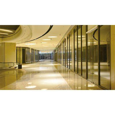 山东恒保中庭乙级防火玻璃非承重隔墙 3200mm*4300mm