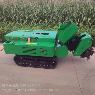 亚博国际真实吗机械 28马力柴油开沟施肥机 果园开沟施肥回填一体 核桃树履带式旋耕机