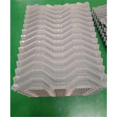 冷却塔塑料淋水装置 黑色S波形沟槽填料 斯频德、马利等填料 品牌华庆