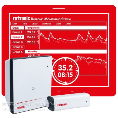 罗卓尼克 昆仑海岸 RMS-MLOG - 无线迷你记录器 温湿度记录仪
