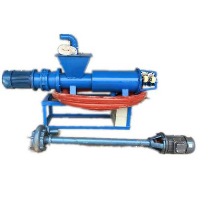 自动抽粪带10米水管的干湿分离机 过滤筛网挤压粪便脱水机