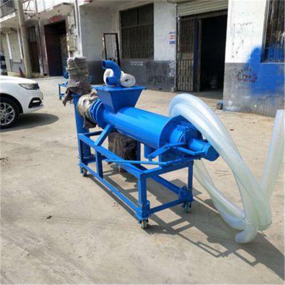 直销酒糟豆渣脱水处理机/餐厨垃圾脱水分离机/上海粪便垃圾干湿分离机